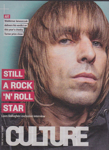 Culture Magazine - Liam Gallagher - Oasis