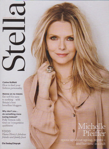 Stella Magazine - Michelle Pfeiffer