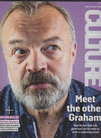 Culture Magazine - Graham Norton