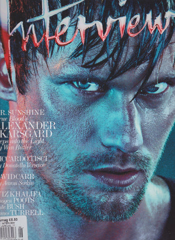 Interview Magazine - Alexander Skarsgard