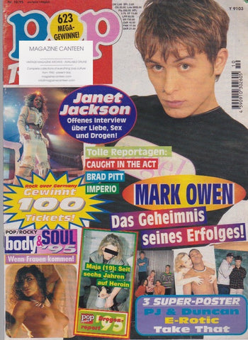 Pop Rocky Magazine - Mark Owen