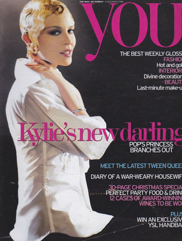 You Magazine - Kylie Minogue