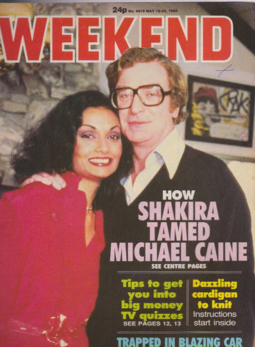 Weekend Magazine - Michael Caine