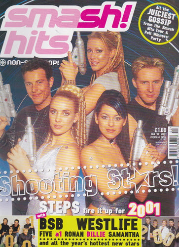 Smash Hits Magazine 2001 - Steps
