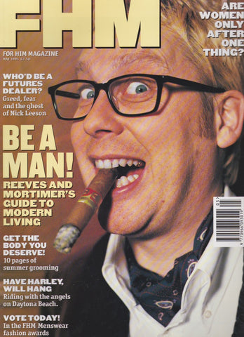 FHM Magazine - Vic Reeves