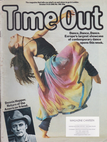 Time Out Magazine - Dennis Hopper