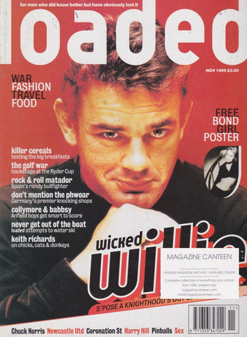 Loaded Magazine - Will Carling