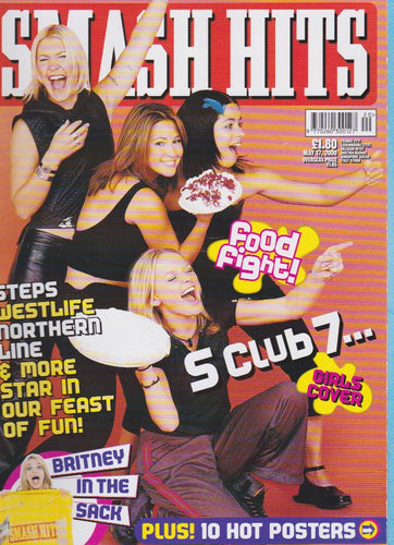 Smash Hits Magazine 2000 - S Club 7 Rachel Stevens