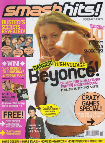 Smash Hits Magazine 2003 - Beyonce