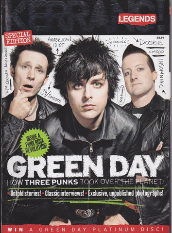 Kerrang Legends Magazine - Green Day