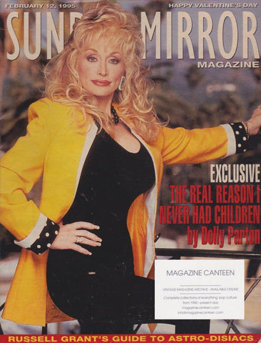 Mirror Magazine - Dolly Parton