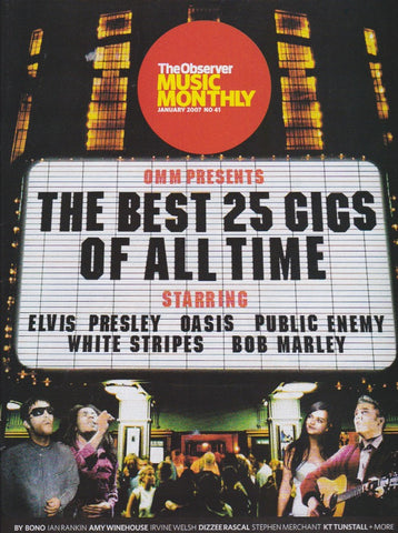Observer Music Magazine - 41 - The 25 best gigs