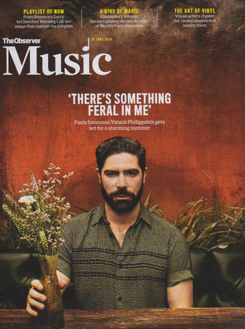 Observer Music Magazine - Yannis Philippakis The Foals