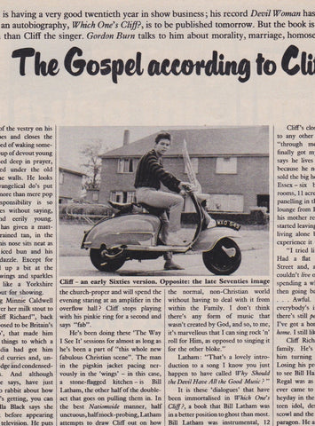 The Sunday Times - Cliff Richard - The Gospel