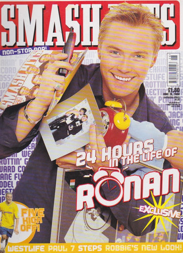 Smash Hits Magazine 2000 - Ronan Keating
