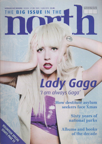 The Big Issue Magazine - Lady Gaga