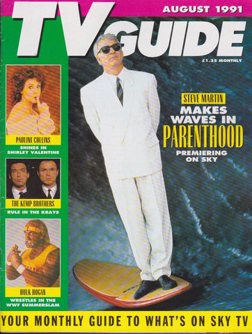 TV Guide Magazine - Steve Martin