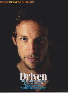 Guardian Magazine -  Jenson Button