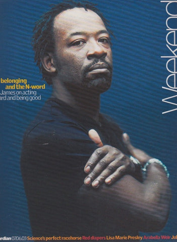 Guardian Magazine - Lennie James The Walking dead