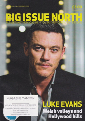 The Big Issue Magazine - Luke Evans