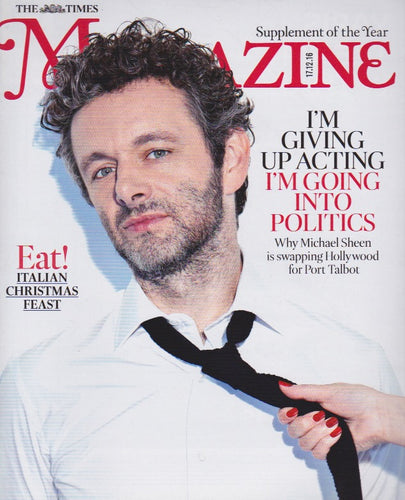 The Times Magazine - Michael Sheen
