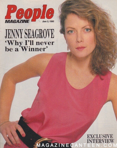 People Magazine - Jenny Seagrove