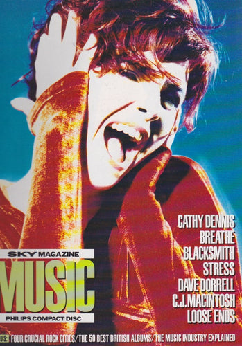 Sky Magazine Supplement - Cathy Dennis