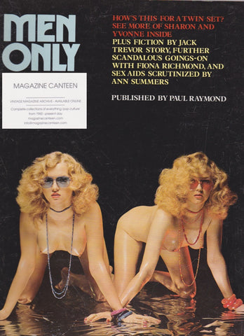 Men Only Magazine - Sharon & Yvonne