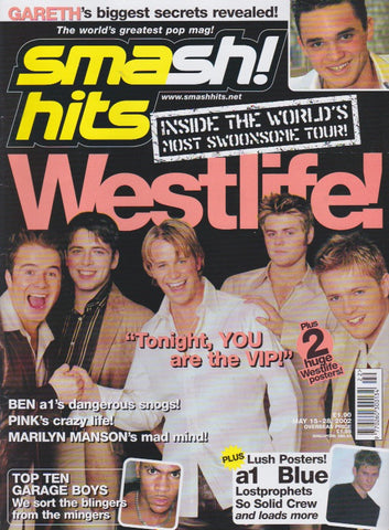Smash Hits Magazine 2002 - Westlife