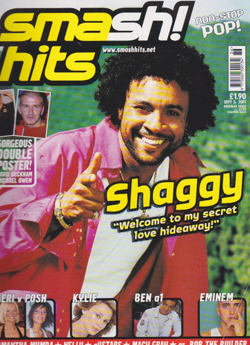 Smash Hits Magazine 2001 - Shaggy