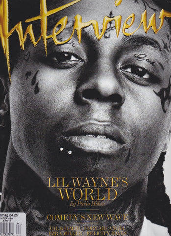 Interview Magazine - Lil Wayne