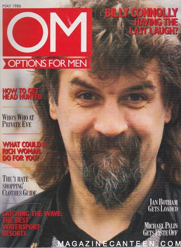 Options For Men Magazine - Billy Connolly