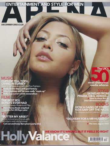 Arena Magazine 129 - Holly Valance 2002