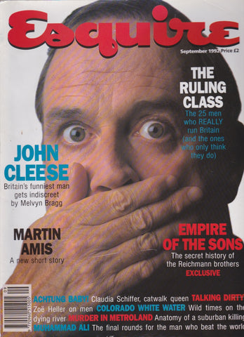 Esquire Magazine September 1992 - John Cleese