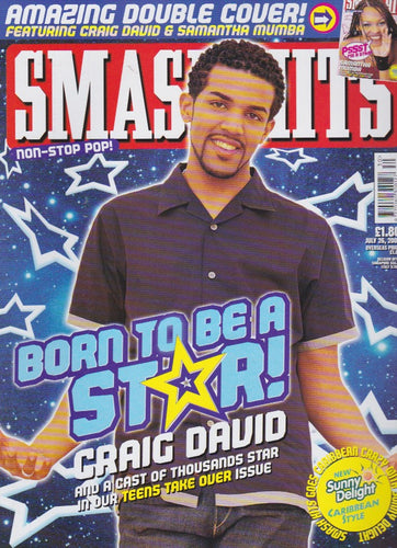 Smash Hits Magazine 2000 - Craig David