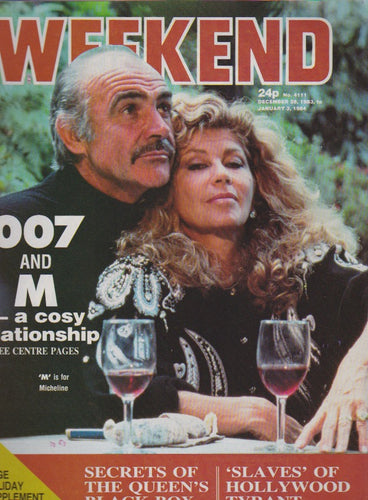 Weekend Magazine - Sean Connery