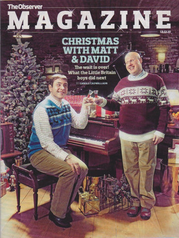Observer Magazine - Matt Lucas & David Walliams
