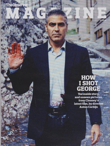 Observer Magazine - George Clooney
