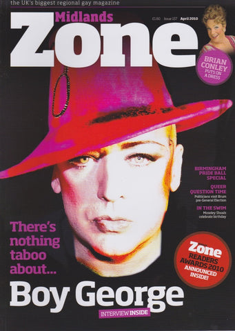 Midlands Zone Magazine - Boy George