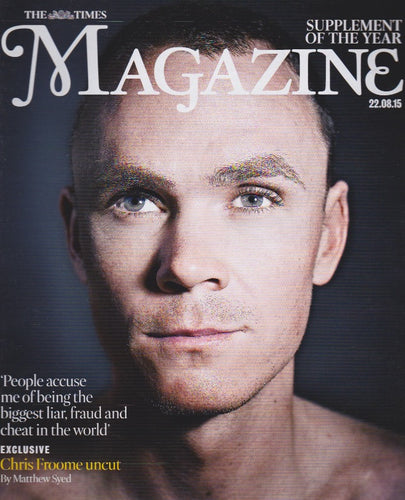 The Times Magazine - Chris Froome