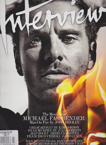 Interview Magazine - Michael Fassbender