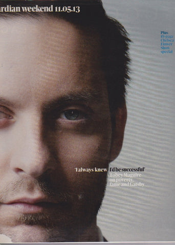 Guardian Magazine - Tobey Maguire