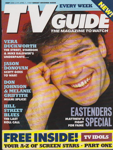 Tv Guide Magazine - Steven Hartley
