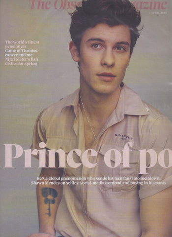 The Observer Magazine - Shawn Mendes