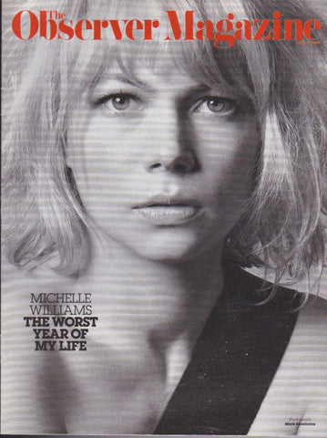 Observer Magazine - Michelle Williams