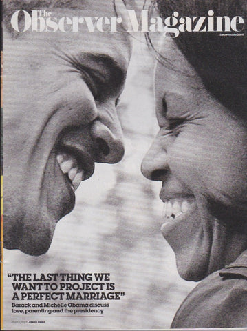 Observer Magazine - Barack and Michelle Obama
