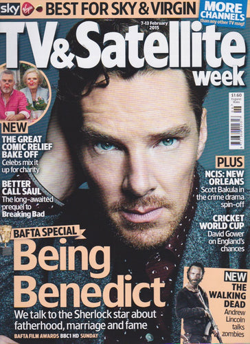 TV & Satellite Week Magazine - Benedict Cumberbatch