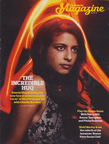 Observer Magazine - Konnie Huq The Jolly boys