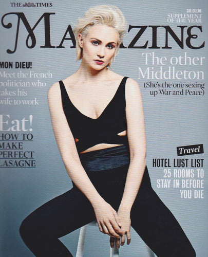 The Times Magazine - Tuppence Middleton