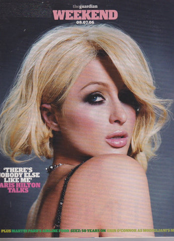 Guardian Magazine - Paris Hilton